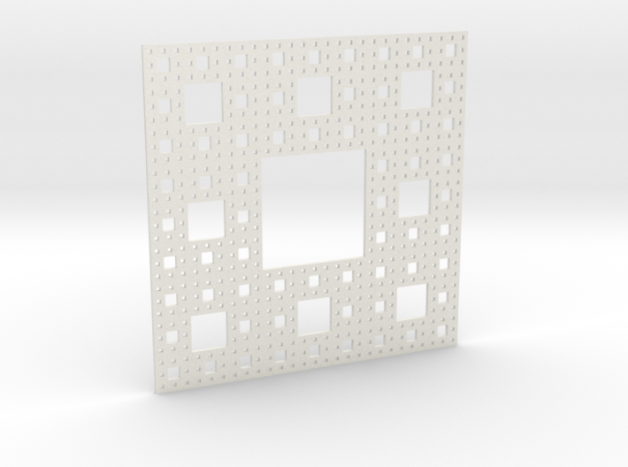 Sierpinski carpet Level 4 3d printed