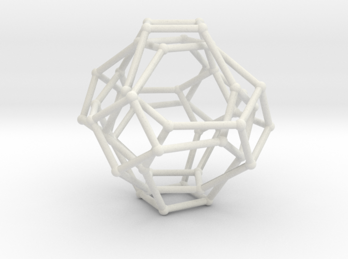 Cayley Graph of the 1x2x3 (octahedron) 3d printed