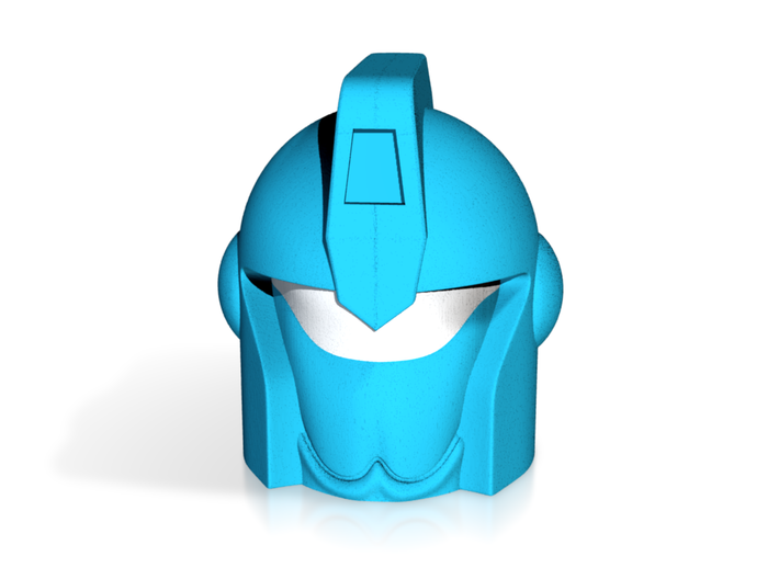 MIRAGE Full-color Head 3d printed