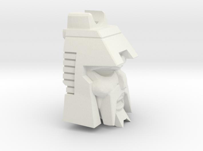 Crazy Tracker's Deformed Head 3d printed