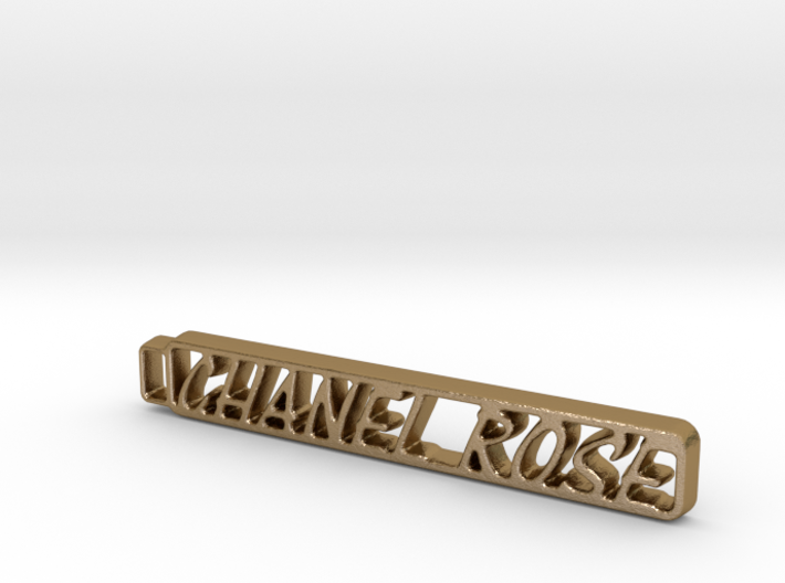 Chanel's Keychain! 3d printed