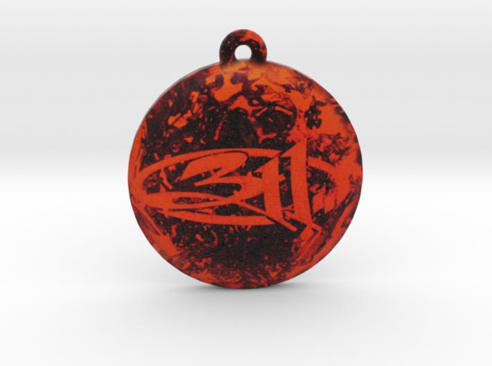 311 Logo Pendant / Ornament 3d printed