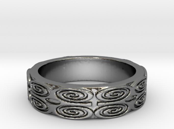 Dwennimmen (strength) Ring Size 7 3d printed
