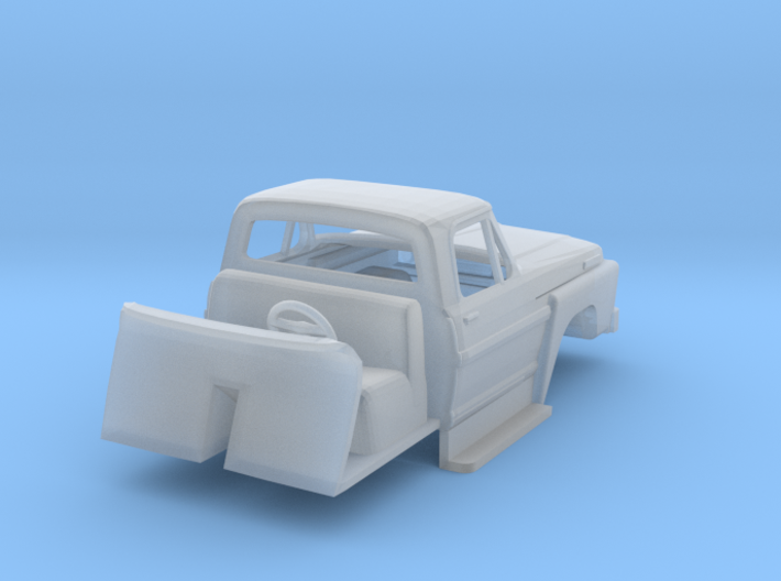 1/87 1970's Ford F700 W Interior 3d printed