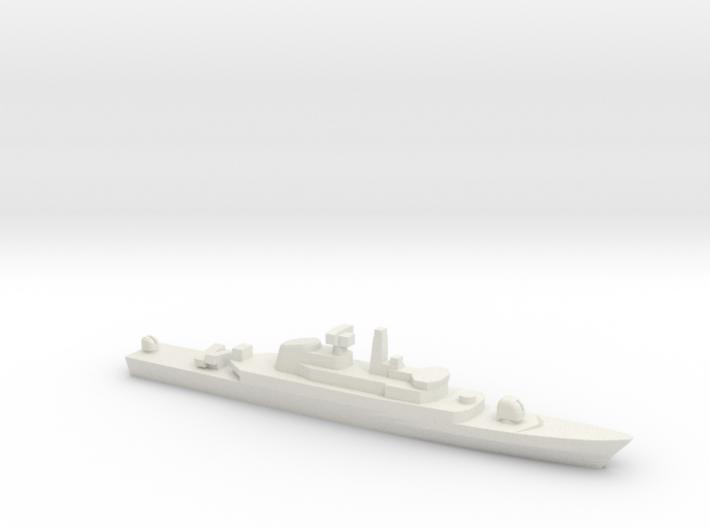 Alvand-class frigate (w/ C-802 AShM), 1/1800 3d printed