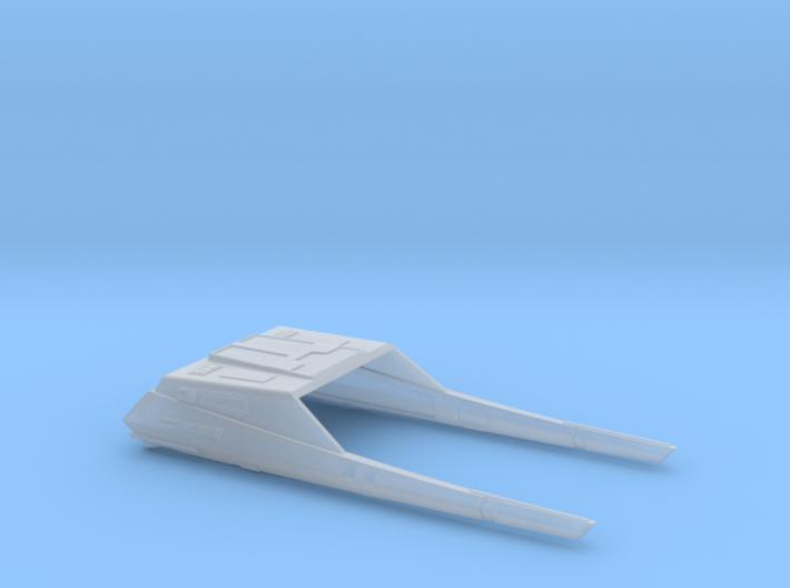 1/350 Vulcan Warp Sled 3d printed