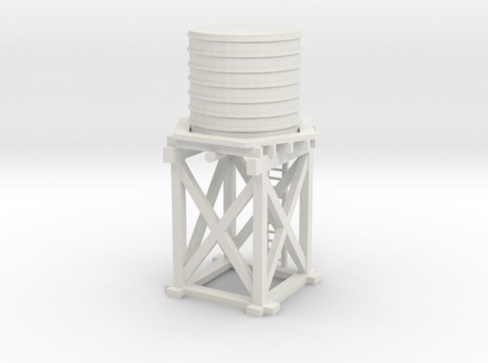 Water Tower Nz120 3d printed