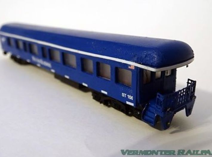 Pan Am Railways ST100 Conductor Side (HO Scale) 3d printed