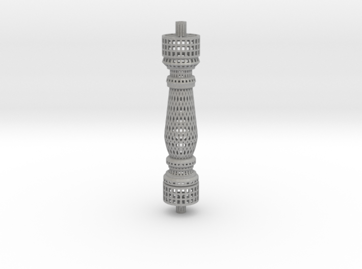 Baluster_Honeycomb 3d printed