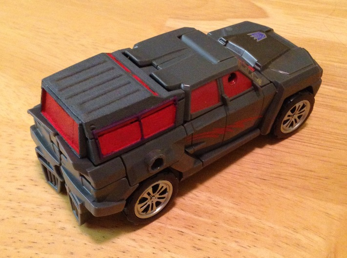 Trunk Fill Assembly - Shield Type 3d printed Truck Mode