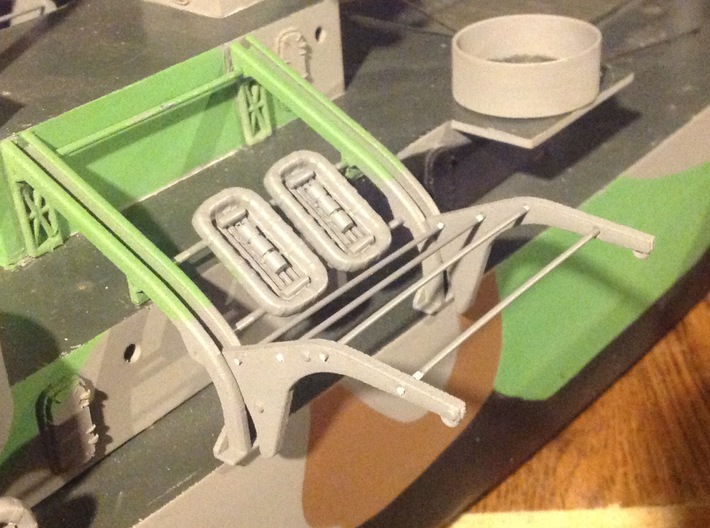 Grav Uppers And Lowers 3d printed Life rafts not included