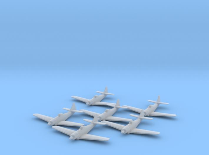 Boeing XF8B 1:285 x6 3d printed