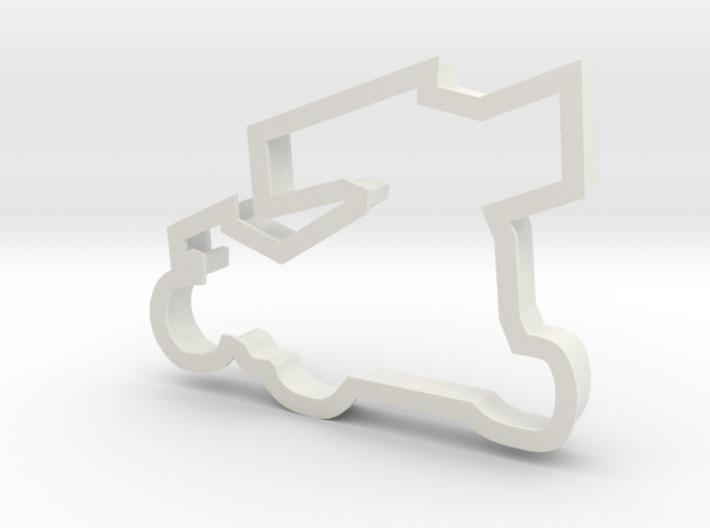 Sprint Car Cookie Cutter 3d printed