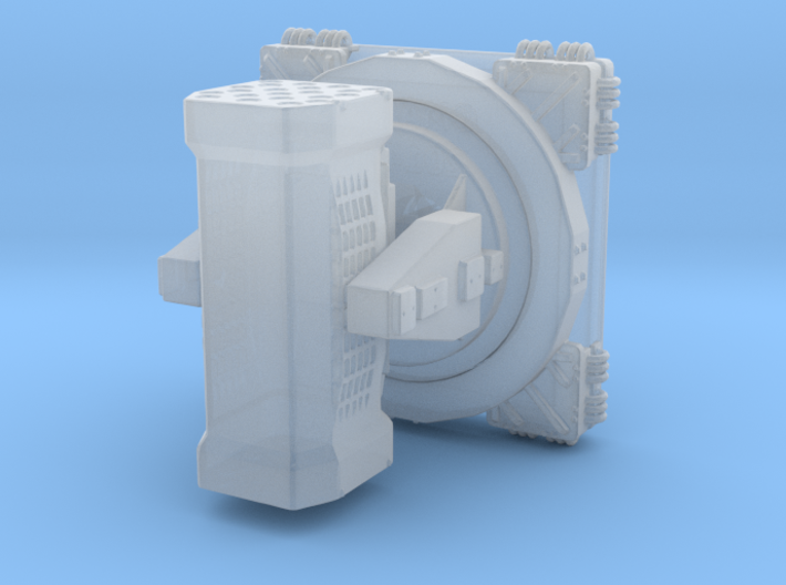 Sea Ram RIM 116 1/200 3d printed