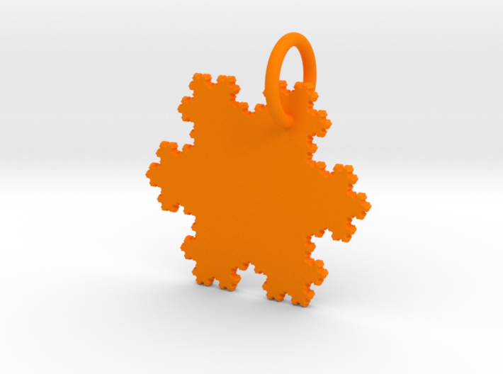 Fractal Keychain 3d printed