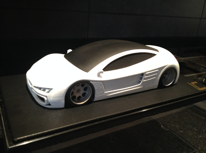 Toosa - Bodywork for slot car 3d printed Bodywork for slot car