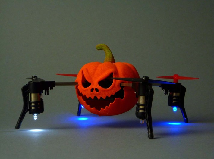 Halloween case for Micro Drone 3.0 3d printed Halloween case for Micro Drone 3.0- 3D printed in orange nylon