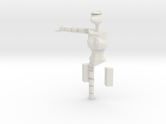 Small Endo Skeleton (Work In Progress) 3d printed