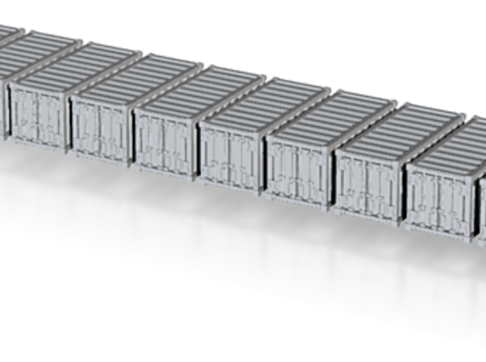 1:400_20' Container [x10][A] 3d printed