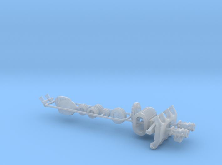 1/18 Flathead Ardun And SCOT Blower Kit 3d printed