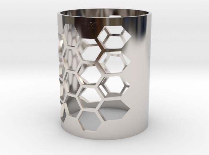Honeycomb - The Loft Hair Salon 3d printed