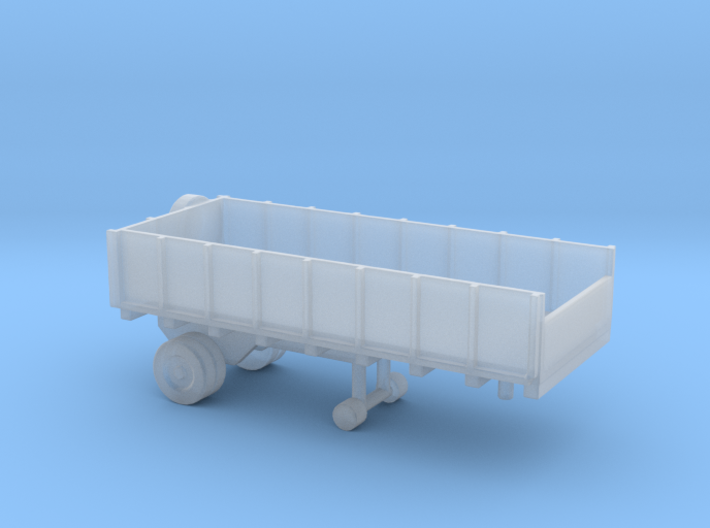 1/144 Scale Cargo Trailer 1 3d printed