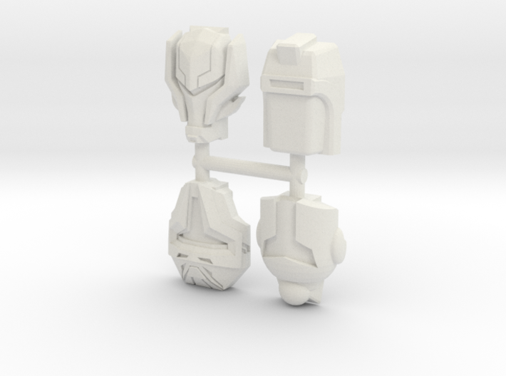Decepticon Army Builder 4-Pack (Titans Return) 3d printed