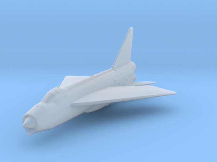 English Electric Lightning 1:285 x1 3d printed