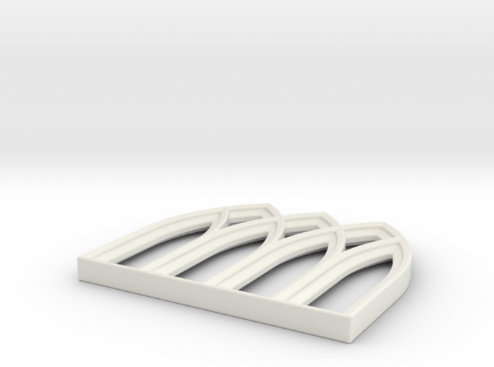 28mm Scale Gothic Window Frame for MDF 3d printed