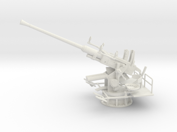 1/16 USN 40mm Single Bofors (Elevated) 3d printed