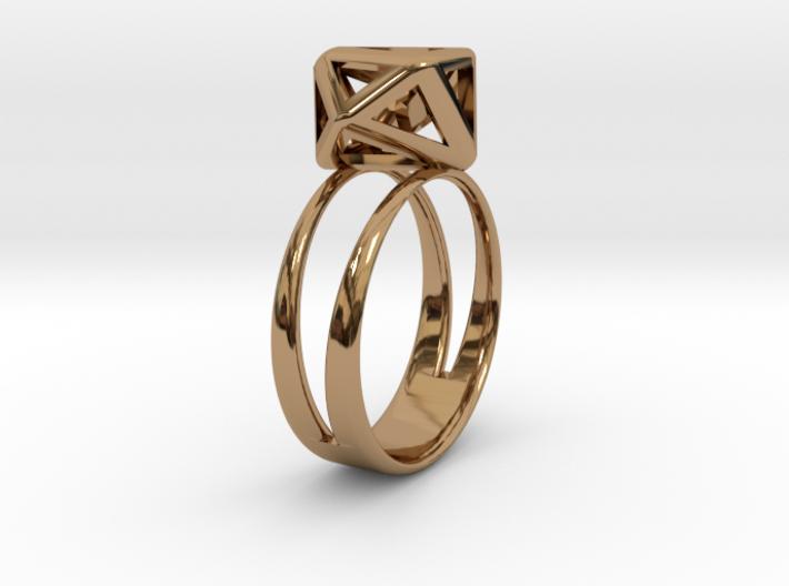 RING GEM 3d printed