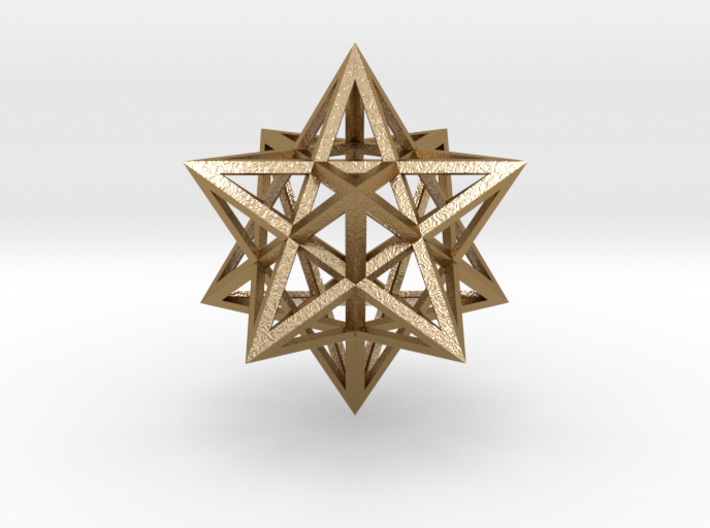 """Stellated Dodecahedron 1.6"""" 3d printed"""