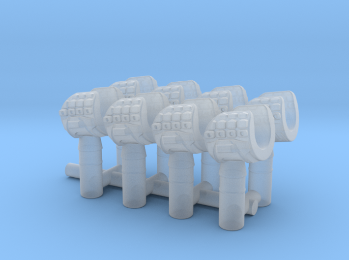 Detail Hands Set of 8 3d printed
