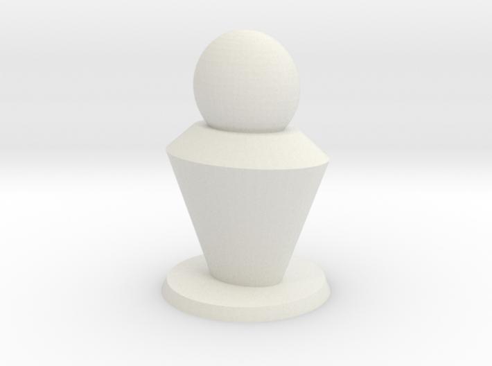 Pion 2cm base 3d printed