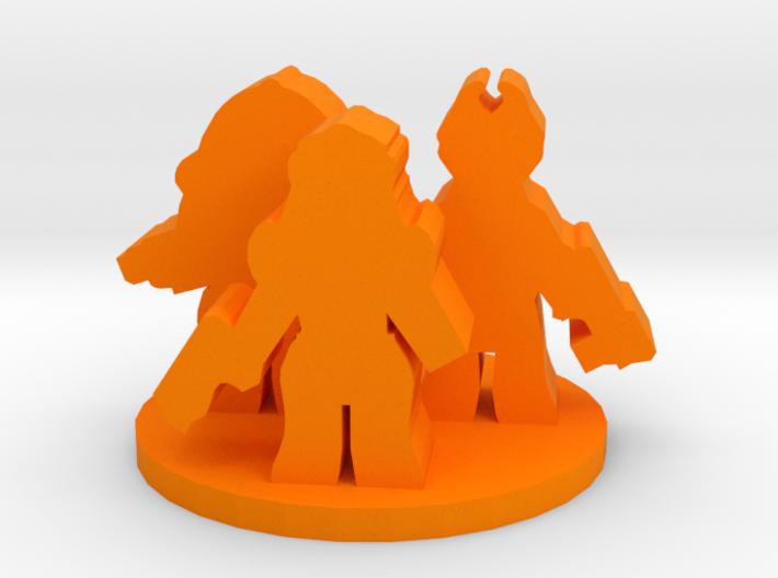 Game Piece, Alien Mercenaries 3d printed