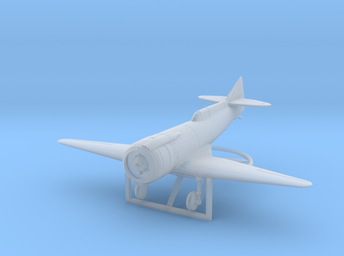 Marcoux-Bromberg Special (1939), scale 1/144 3d printed