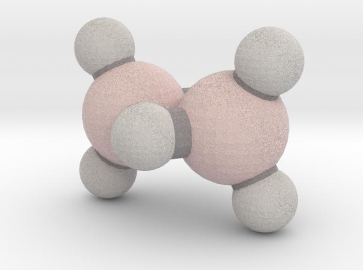Diborane (B2H6) 3d printed