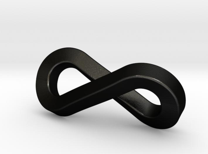 Infinity Keychain  3d printed