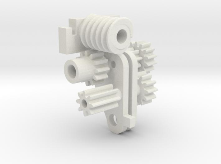 Hustler Components1 3d printed