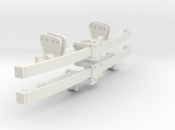Monoleaf Floating Axle 1/12 3d printed