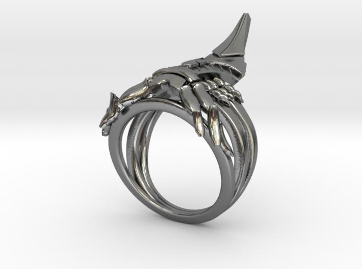 Reaper Ring 3d printed