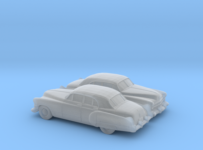 1/160 2X 1949-52 Cadillac Series 62 Sedan 3d printed