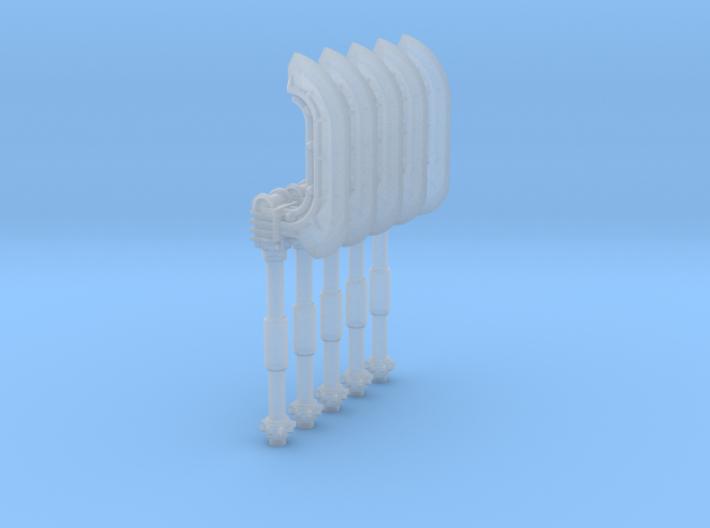 Techno Copesh (x5) 3d printed