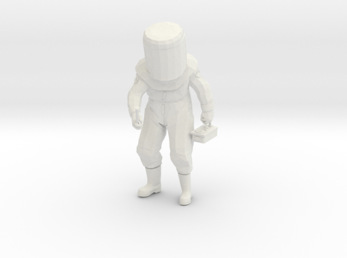 HAZMAT Rad-Guy (7.2in) 3d printed