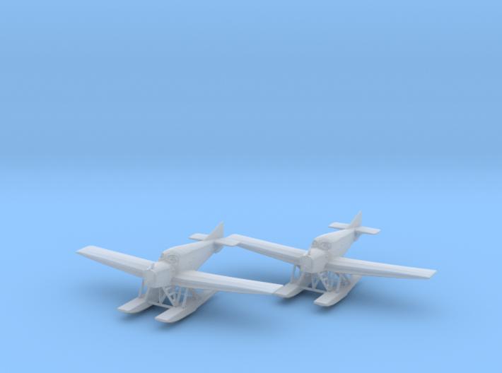 Junkers F.13 (floats) 1:200 x2 FUD 3d printed