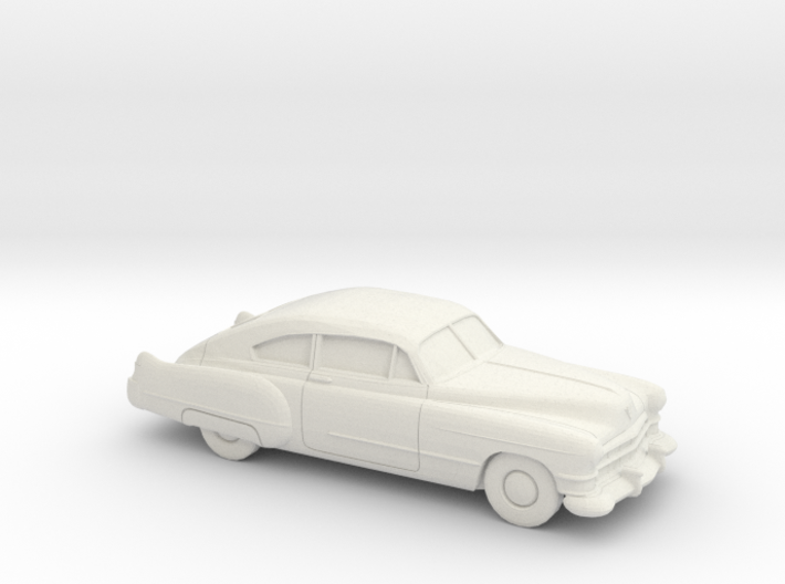 1/87 1949-52 Cadillac Series 62 Fastback 3d printed
