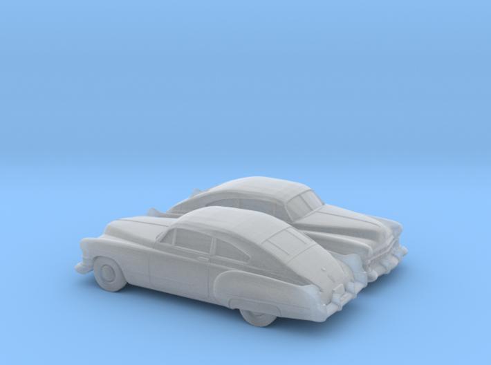 1/160 2X 1949-52 Cadillac Series 62 Fastback 3d printed