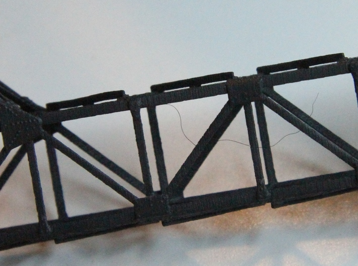 Large Cantilever FUD 3d printed Properly detailed angle iron bracing
