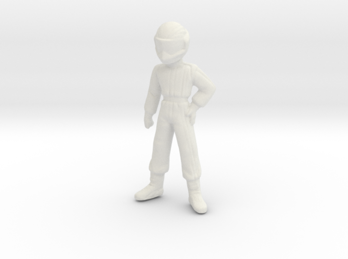 1/43 Young Racing Driver (1.56 m) 3d printed