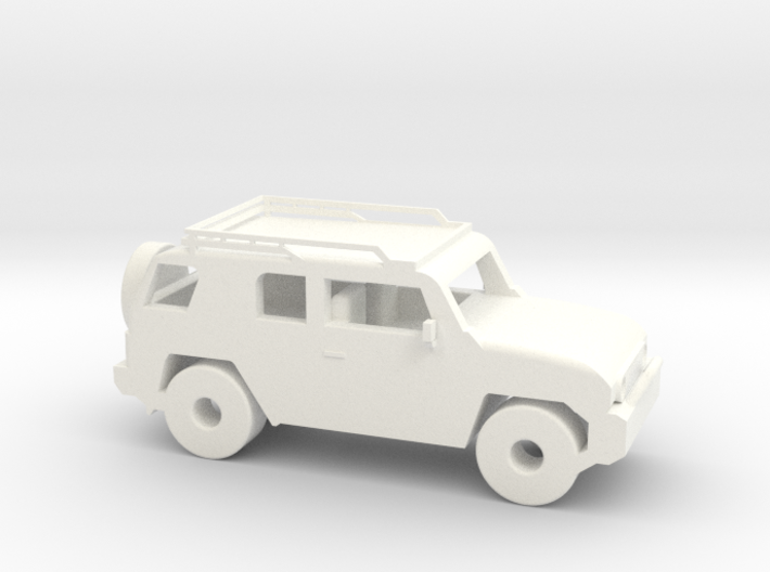 FJ Cruiser 6'' Long 3d printed